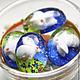 Для украшений ручной работы. Заказать Кабошон Белый кролик, 18х25мм (1шт). Buseni4ka - камеи, кабошоны, оправы. Ярмарка Мастеров.