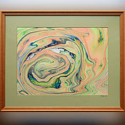 Картины и панно ручной работы. Ярмарка Мастеров - ручная работа живопись на воде 24. Handmade.
