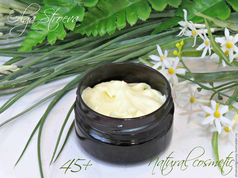 Cream, Gel & Serum handmade. Livemaster - handmade. Buy Face cream 'Regeneration'( 45 ).Green