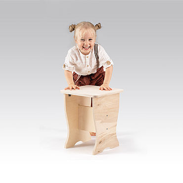 Мебель ручной работы. Ярмарка Мастеров - ручная работа Табурет деревянный. Handmade.