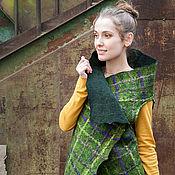 Одежда handmade. Livemaster - original item Felted vest Ivy. Handmade.