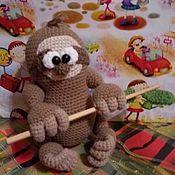 Мягкие игрушки ручной работы. Ярмарка Мастеров - ручная работа Игрушки: Ленивец. Handmade.