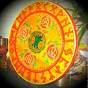 Алтарь ручной работы. Ярмарка Мастеров - ручная работа Рунический круг  ЯРИЛО ( мини-алтарь) для гаданий и магических практик. Handmade.