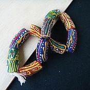 Материалы для творчества handmade. Livemaster - original item Beads KROBO Africa Ghana assortment. Handmade.