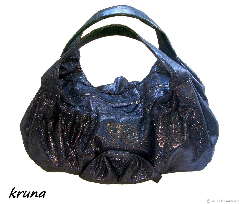 81c6a90c2214 Большая мягкая женская сумка мешок из лаковой кожи – купить в ...