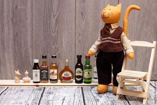 Куклы Тильды ручной работы. Ярмарка Мастеров - ручная работа. Купить Котик Макар. Handmade. Нежный, интерьерная кукла, рыжий