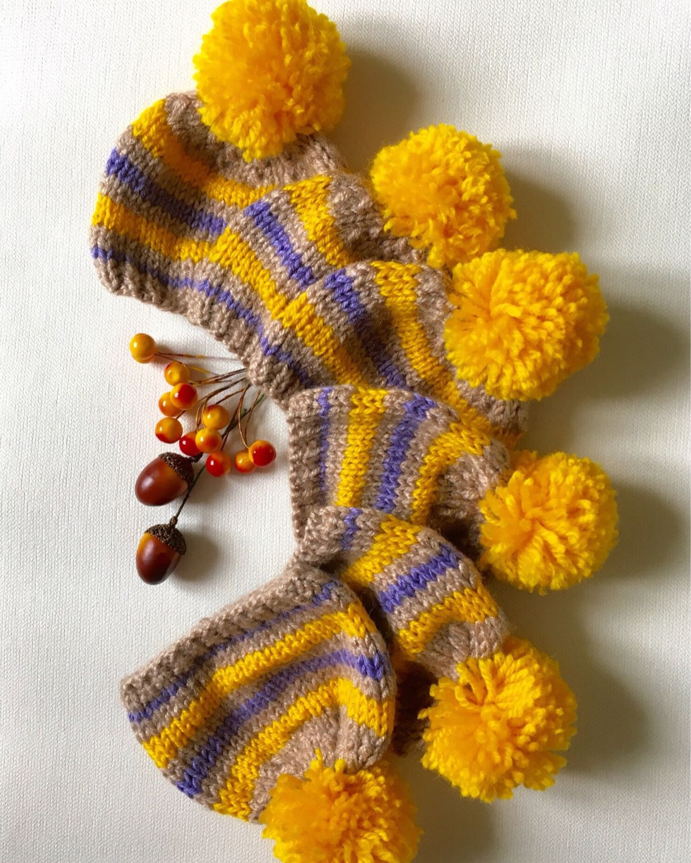 Шапочка полосатая, Материалы для кукол и игрушек, Владимир,  Фото №1