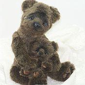 Куклы и игрушки ручной работы. Ярмарка Мастеров - ручная работа Медвежонок Бруно. Handmade.