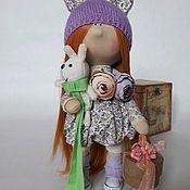 """Игрушки ручной работы. Ярмарка Мастеров - ручная работа Интерьерная кукла """"Тыквоголовка"""". Handmade."""