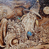 """Картины и панно ручной работы. Ярмарка Мастеров - ручная работа Картина """"Мир Магии"""". Handmade."""