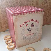 Для дома и интерьера ручной работы. Ярмарка Мастеров - ручная работа Короб кухонный. Handmade.