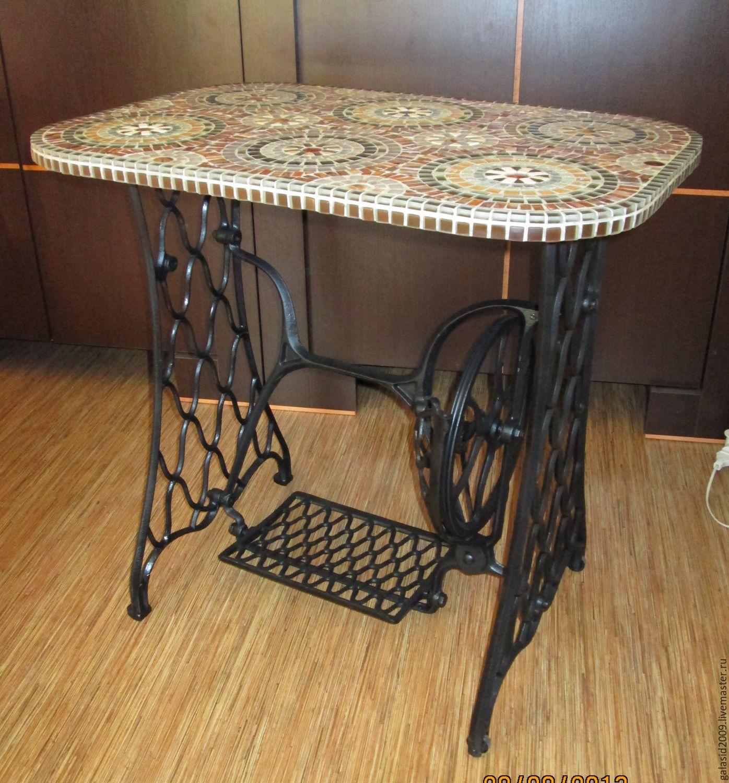 Столик из старой швейной машинки своими руками