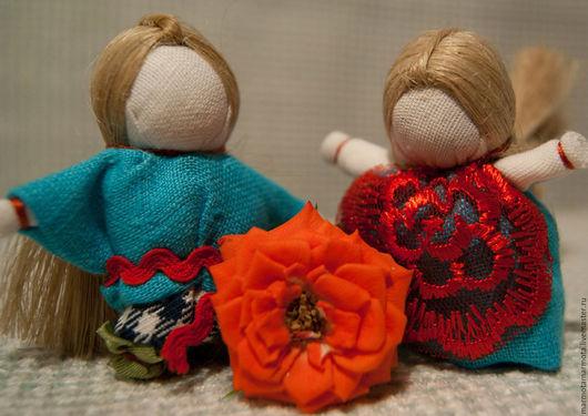 Народные куклы ручной работы. Ярмарка Мастеров - ручная работа. Купить Парочка Мальчик и Девочка. Handmade. Кукла, кукла на счастье
