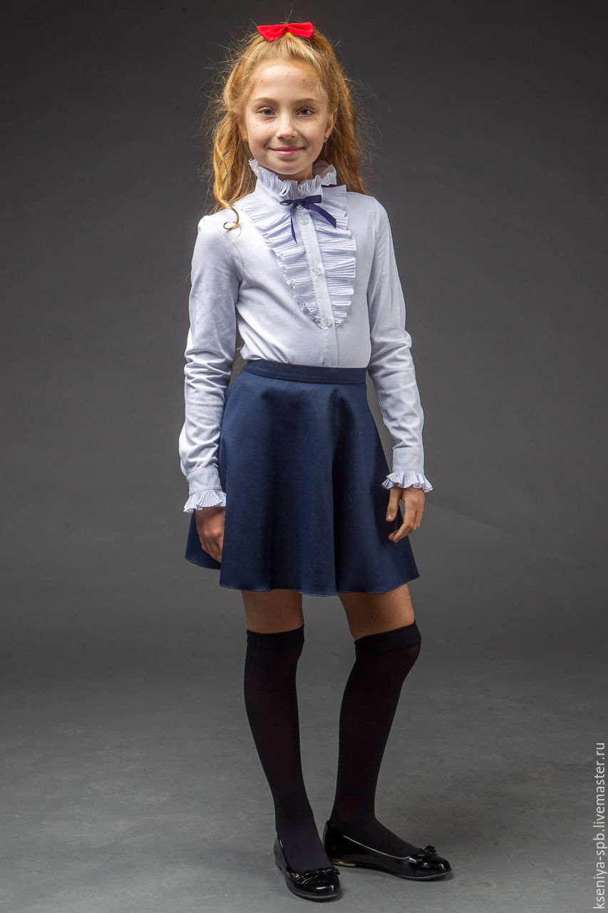 Нарядные Блузки Для Девочек Для Школы Купить