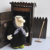 Куклы и игрушки handmade. Livemaster - original item Lady in evening dress, soft toy by Vasya Lozhkin. Handmade.