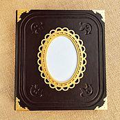 Канцелярские товары handmade. Livemaster - original item Photo album leather bound. Handmade.