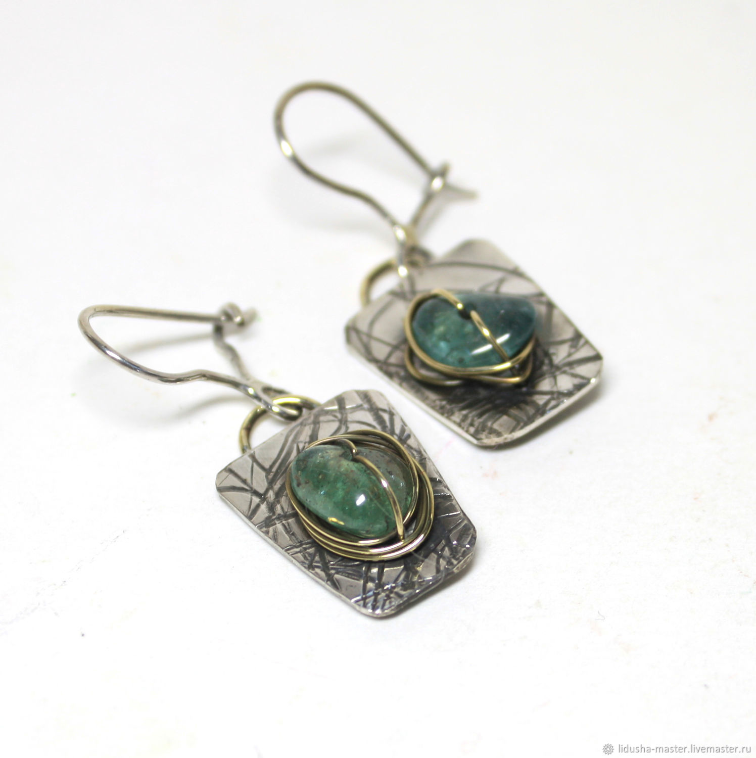 Classic 'Medusa' earrings', Earrings, Nizhny Novgorod,  Фото №1