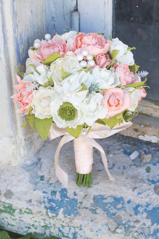 Свадебный букет, свадебный букет дублер, свадебный букет из фоамирана, Цветочный декор, Сочи,  Фото №1