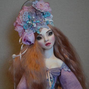 Куклы и игрушки ручной работы. Ярмарка Мастеров - ручная работа Будуарная кукла Лилиан. Handmade.