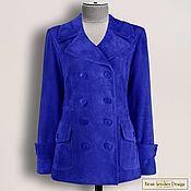 Одежда handmade. Livemaster - original item Stella jacket made of genuine leather/suede (any color). Handmade.