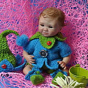 Куклы и игрушки ручной работы. Ярмарка Мастеров - ручная работа Мини - реборн Эмилька. Handmade.