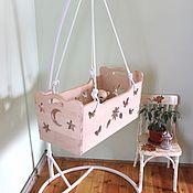 Для дома и интерьера handmade. Livemaster - original item Bed: Hanging cradle cradle