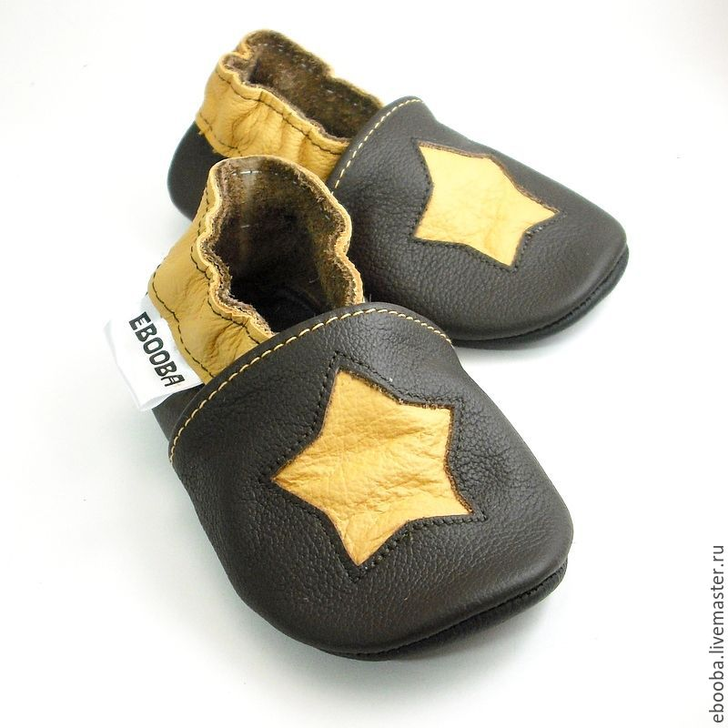 Baby shoes, Leather baby shoes, Baby Slippers, Newborn Booties, Footwear for children, Kharkiv,  Фото №1