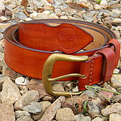 Straps handmade. Livemaster - original item Strap leather for jeans.. Handmade.