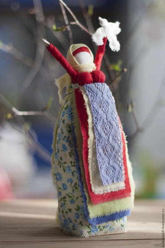 Народные куклы ручной работы. Ярмарка Мастеров - ручная работа. Купить Кукла народная Радостея  Радуюсь весне... Handmade. Радостея