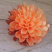 """Резинка для волос ручной работы. Ярмарка Мастеров - ручная работа Резинка для волос: Бант  """"Осенний цветок"""". Handmade."""