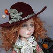 Куклы и пупсы ручной работы. Ярмарка Мастеров - ручная работа Девочка Осень. Handmade.