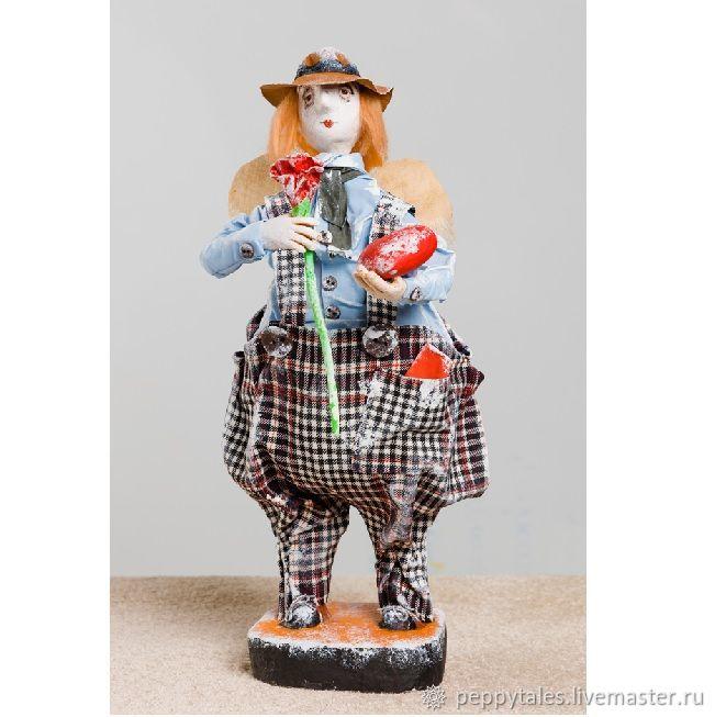 """Валентин""-коллекционная кукла из папье-маше, Куклы и пупсы, Брест,  Фото №1"