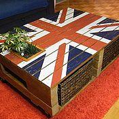 Столы ручной работы. Ярмарка Мастеров - ручная работа Стол из поддонов (паллет). Handmade.