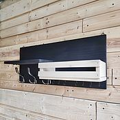 Для дома и интерьера handmade. Livemaster - original item Shelf hanger housekeeper holder - all in one compact shelf. Handmade.
