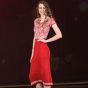 """Одежда ручной работы. Ярмарка Мастеров - ручная работа платье """"Рубин"""". Handmade."""