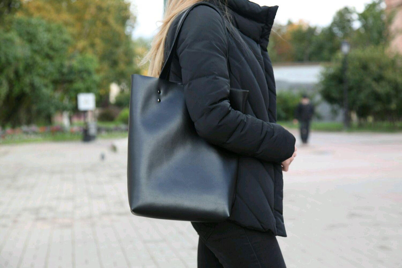 Шоппер из экокожи, Сумка-шоппер, Санкт-Петербург,  Фото №1