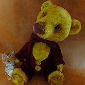 Куклы и игрушки ручной работы. Ярмарка Мастеров - ручная работа Медвежонок Филимон. Handmade.