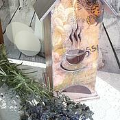 """Для дома и интерьера ручной работы. Ярмарка Мастеров - ручная работа Чайный домик!!! """" Винтажно-лиловый""""!!!. Handmade."""