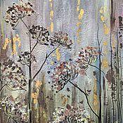 "Картины и панно handmade. Livemaster - original item Картина для интерьера ""Сибирские травы"". Handmade."