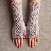 Аксессуары handmade. Livemaster - original item Mitts knit
