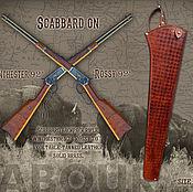 Классическая сумка ручной работы. Ярмарка Мастеров - ручная работа Скаббард(чехол) для винтовки Winchester,  Rossi, Marlin. Handmade.