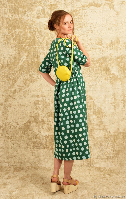 Платья ручной работы. Ярмарка Мастеров - ручная работа. Купить Платье в горошек. Handmade. Платье на заказ, индивидуальный дизайн