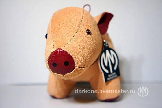 Игрушки животные, ручной работы. Ярмарка Мастеров - ручная работа. Купить Интерьерная игрушка Минипиг поросенок. Handmade. Интерьерная игрушка