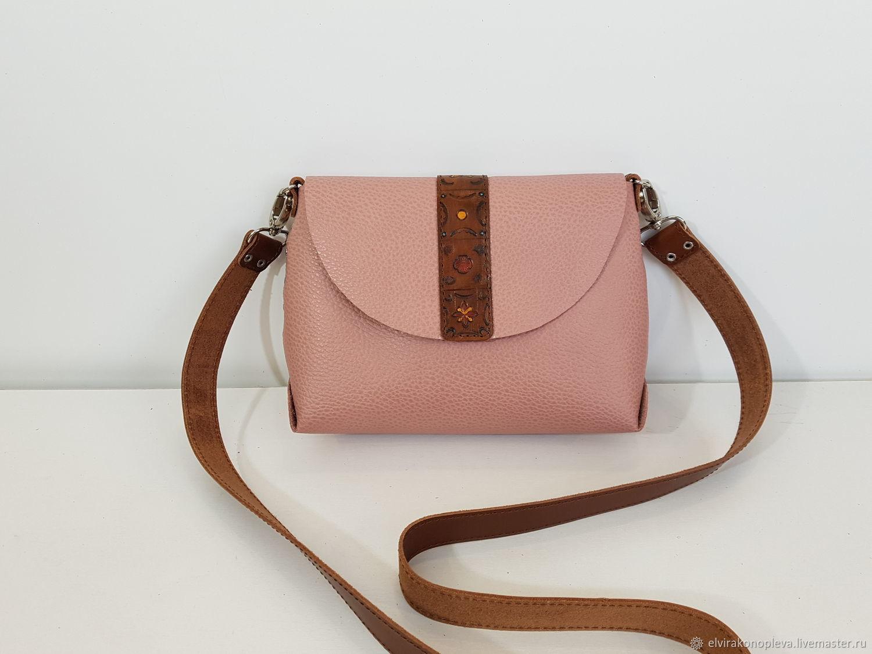 303ddadebae2 Женские сумки ручной работы. Ярмарка Мастеров - ручная работа. Купить  Маленькая розовая сумочка из ...