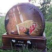 Доски ручной работы. Ярмарка Мастеров - ручная работа Сырные доски в наборе. Handmade.