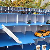 Кукольные домики ручной работы. Ярмарка Мастеров - ручная работа Кукольные домики: Парковка гараж с электрикой для детских машинок. Handmade.