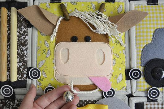 Детская ручной работы. Ярмарка Мастеров - ручная работа. Купить Котиковый комплект. Покрывало, кубики, сумка-домик и котик. Handmade.