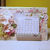 Открытки handmade. Livemaster - original item calendars handmade. Handmade.