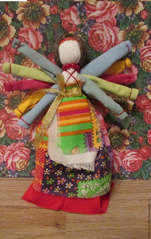 Славянские куклы. Делаем оберег на счастье и достаток 4