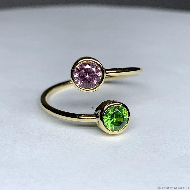 Golden ring ' Charm of Elsa', Rings, Ekaterinburg,  Фото №1